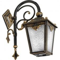 Настенный фонарь уличный Квадро 33-001-ЧЗ