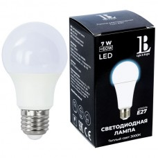 Лампочка светодиодная E27-7W-3000K-A60_lb