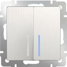 Выключатель  WL13-SW-2G-LED