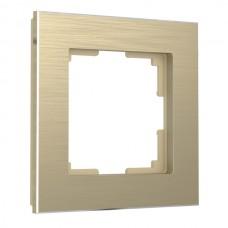 Рамка Aluminium шампань алюминий W0011711