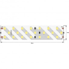 Светодиодная лента LUX DSG2252-24-WW-33